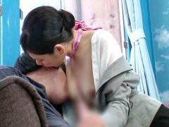 マジックミラー号 現役国際線CAの風俗嬢並みのテクニックに童貞チ◯ポ大爆...