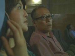 昭和のビデオ ポルノ映画見ながらセンズリしだす男 女もまたエロスで股間...