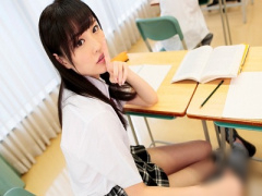 女子校生 美少女! 可愛い制服黒髪JKとセックス 女子校生がフェラ手コキと3...