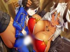 エロアニメ デカ乳ボインすぎる褐色肌の女戦士がショタっこ王子のち○ぽを...