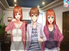 エロアニメ サキュバスコスプレの巨乳美少女が痴女ランドで逆ハー快感セッ...