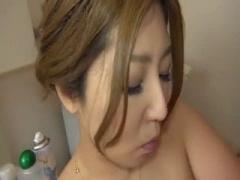 お風呂場で夫婦が相互オナニーして、仲良くイク!