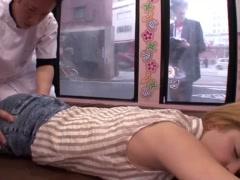 寝取り 寝取られ NTR 白人女優! 彼氏と日本に旅行に来ていたブロンド娘を...