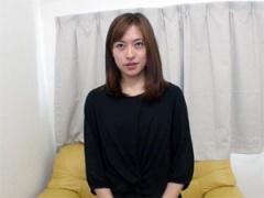 徳島えり31歳 綺麗な顔してドスケベな清楚妻を面接中出しセックス!