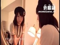 ベレー帽×ニーハイ美少女がおじさんの肉棒をシコシコ手コキする動画