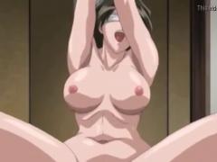 エロアニメ 巨乳美女の人妻が男たちに拉致されて拘束、輪姦レイプされてい...