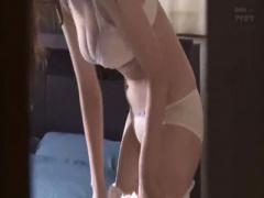 人妻レイプ 美人若妻の全裸お着替え覗き見しちゃって興奮したのでそのまま...