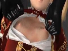 3Dエロアニメ 執拗なまでのちっぱい貧乳の責めに悶絶! チクビが立ってきた...