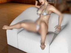 3Dエロアニメ グラドル系女子が玩具の様に扱われてセックス奴隷に! ! オマ...