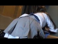 魔法少女シーメール アニメコスプレ装備でシコシコする着衣オナニー!