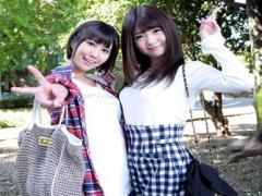 川村まやと 湊莉久の2人がガチンコでスケベ度を競うデート勝負! 選ばれた...