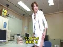 無修正 長身美脚の女教師が生徒を貪り中出しSEX 桜井美里