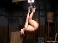 もうやめてぇ~、三十路美女を緊縛し吊るし上げドM調教! ! 次第に感じて濡...