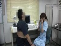 可愛くて優しい看護婦さんにムラムラして襲いかかるメタボ患者w