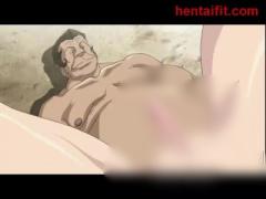 エロアニメ 民衆の前で半裸にひん剥かれてオナニーや公開レイプの罠に堕ち...