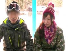 マジックミラー号! スキー場でいつものオイルアッサージ! 香山美桜、他