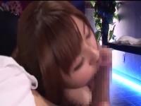 抜き専門の風俗で激かわ美少女が亀頭にキスしてペロペロ