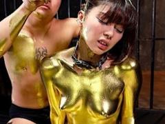 元芸能人が金粉まみれww超マニアックなフェティッシュAV動画やべぇw