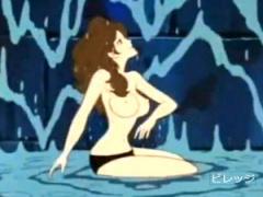 Pornhub 水責めや電気プールのピンチにおちいり弱気になる峰