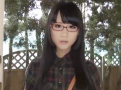 着エロ 超美形の眼鏡っ娘メイドがご主人様の性奴隷に! イメージビデオなの...