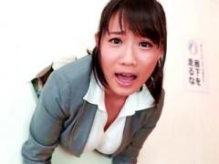 巨乳 Kカップ美女教師が壁にハマって色んなデカチンヌプリで中出しされる!...