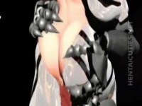 3Dエロアニメ エヴァンゲリオンのアスカが綾波レイにフィストファックされ...