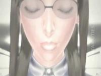 3Dエロアニメ 監禁拘束されてピストンバイブでオマンコ拷問される巨乳美女
