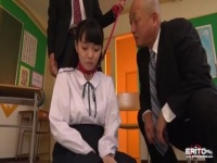 種付け調教 SM動画 教師に首輪を装着され中出し調教されるチビM奴隷