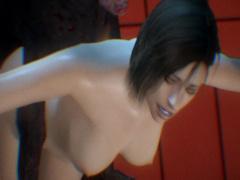 膣穴が張り裂けそうなほどの魔獣チンポで激しすぎる凌辱レイプ エロアニメ