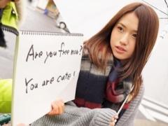 外人ナンパ  うっひょ~めちゃカワ美女を発掘! 日本大好きな留学生エッチ...
