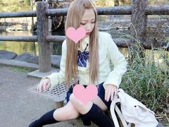 円光 激カワ美少女! スレンダーで可愛い美人ギャルJKが援助交際 女子校生...