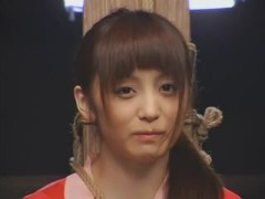 JK美少女を赤襦袢姿で宙吊り緊縛拘束 ! 加藤鷹と電マでイキ潮失禁昇天んこ!