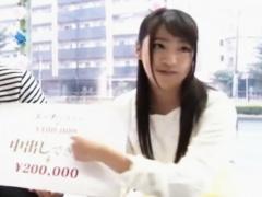 マジックミラー モニタリング 中出しSEXしたら20万円! ?素人大学生友達が...