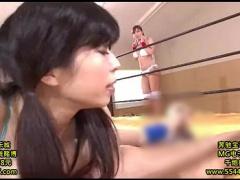 レズ対決 ビッチ爆乳お姉さんがエロい! しゅこしゅこ手コキ手マン動画