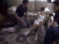拘束レイプ 美人JDが一人きりの自宅で縛り上げられマ◯コを無断使用されま...