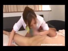 巨乳 ロケットおっぱい痴女エステティシャンの膣内本番マッサージ!