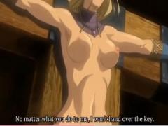 エロアニメ アダルトアニメでハリツケ刑と言えば…後はどうなるか分かりま...