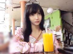 タイで見つけた円光美少女をホテルで脱がせたら物凄い隠れ巨乳で勃起した...