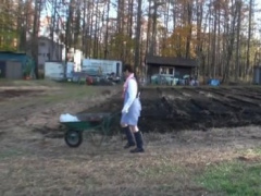 農作業が終わったらおじさん達から種付け処理をさせられることになっています
