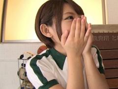 女子校生 激カワ美少女! スレンダーで可愛いJKw 女子校生がフェラ 乙葉な...