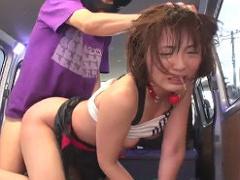 閲覧注意 ジョギング中の女性をワゴン車で拉致、泣いても叫んでも助けは来...