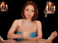 痴女がM男を淫語責め高速手コキで男の潮吹きさせる主観動画!