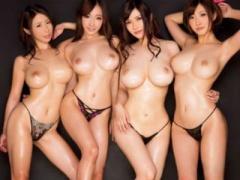 オチンポちょうだいっ~ 4人のドエロボディお姉さん達とハーレム5P