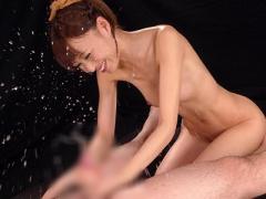男の潮吹き 悩殺アングルで瞬速手コキ技w 美しいカラダと可愛らしさ! !
