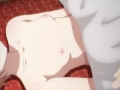 エロアニメ 地上波アニメのエロ場面 意識のない状態の全裸の女子のカラダ...