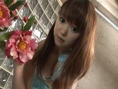 無修正 芹澤カレン アイドル顔負けルックスの巨乳美少女に極太チンポ生挿...