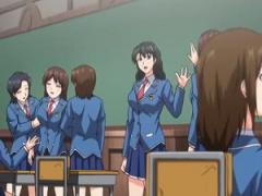 同じクラスの性悪女子を1人ずつ洗脳レイプしていった結果…学園女子みんな...
