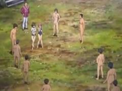 リアルレイプ鬼ごっこ! 2人のJK少女たちを全裸フル勃起した男達が襲いかか...