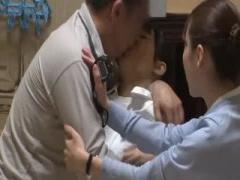 射精依存の男を治療するナース 強引に口まんこイラマチオされ口内射精され...
