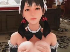巨乳メイドのパイズリご奉仕&イチャラブSEXな3Dエロアニメ